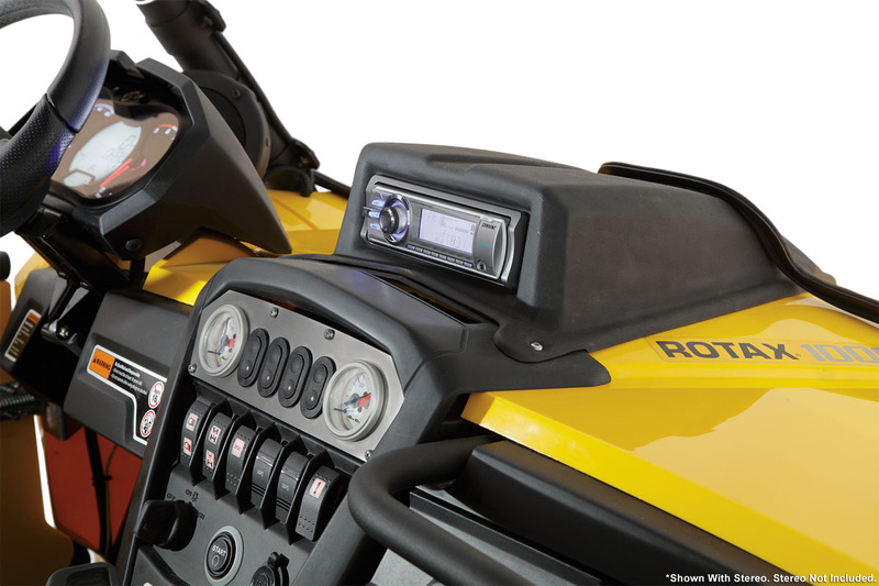 Can-Am Commander Stereo Housing