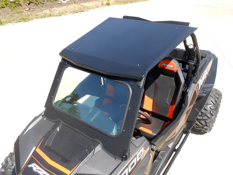 Polaris RZR 1000 DOT Glass Windshield. Click To Enlarge