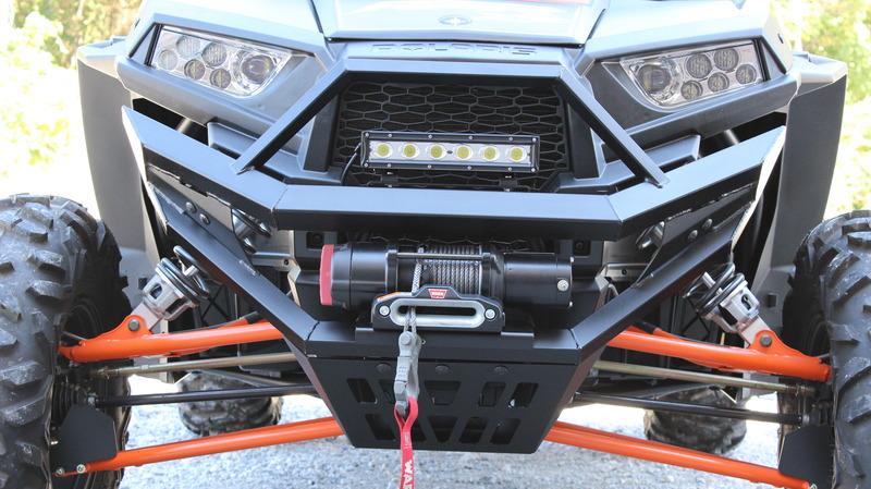 Polaris RZR 1000 Front Bumper/HEAVY DUTY