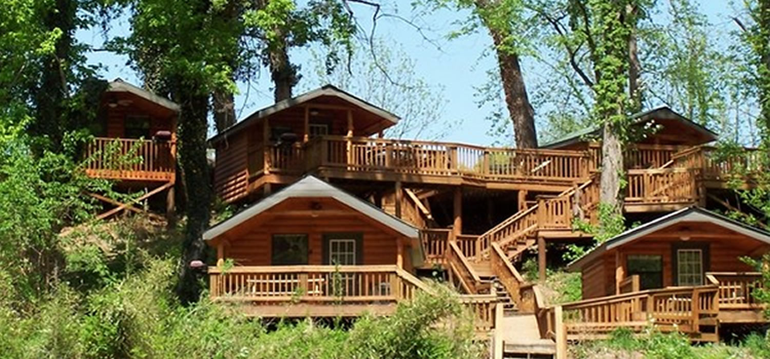 entrance mena of cabin cabins front in luxurious from arkansas mountain rental