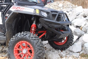 Polaris RZR 900 Heavy Duty Square Tube Front Bumper