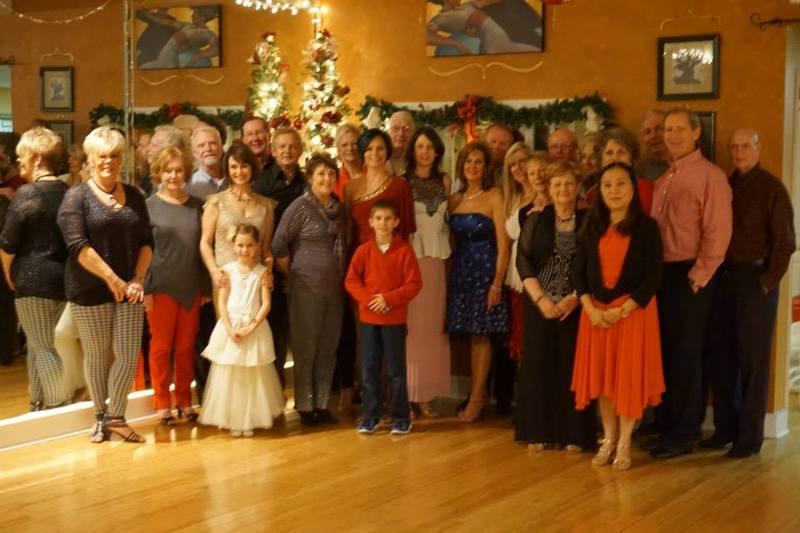 christmas party at la roca dance studio