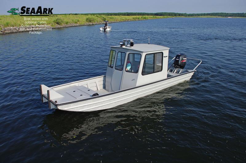 Bottom work boat Aluminum flat