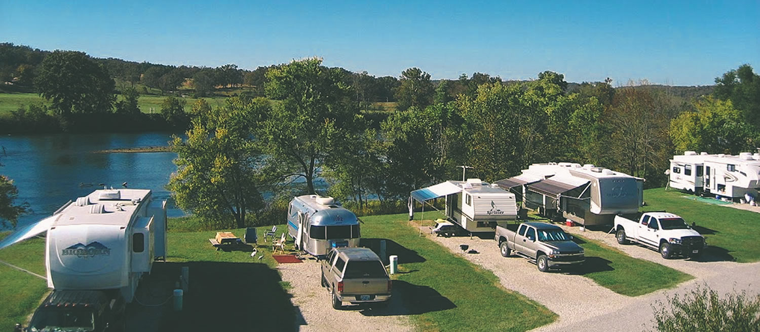 Denton Ferry Rv Park Resort White River Cotter Ar