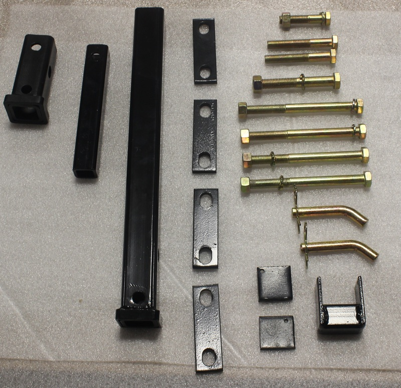 GroundHog Max Hitch Kit Assembly