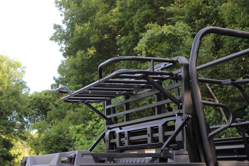kawasaki mule pro fxt rear cargo rack - bad dawg utv accessories