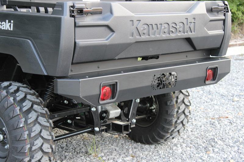 Kawasaki Mule FXT Heavy Duty Rear Bumper