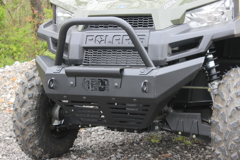 Polaris 570 Mid Size Bull Bar for the Heavy Duty Bumper