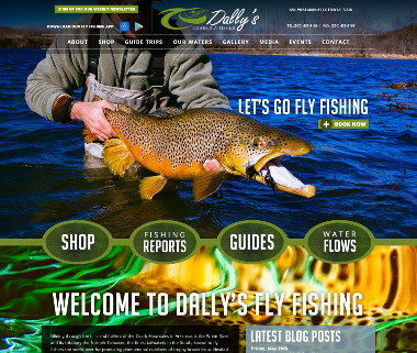 Dally's Ozark Fly Fisher
