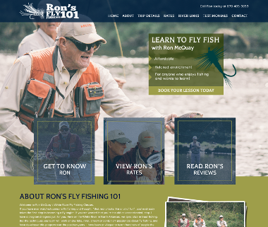 Ron's Fly Fishing 101
