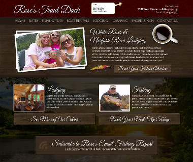 Rose's Trout Dock
