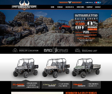 Intimidator 4x4 Utility Vehicles