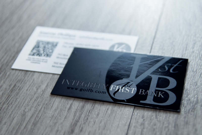Integrity First Bank Business Cards