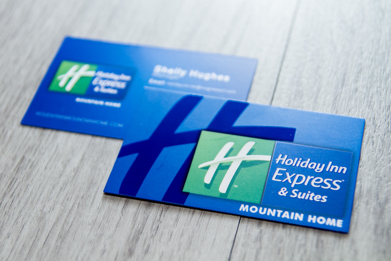 Holiday Inn Express MH Business Cards