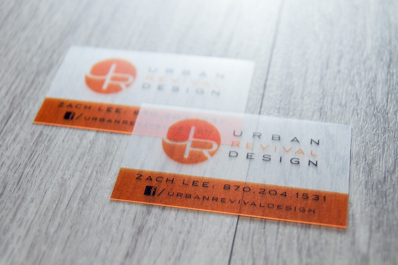 Urban Revival Design Business Cards