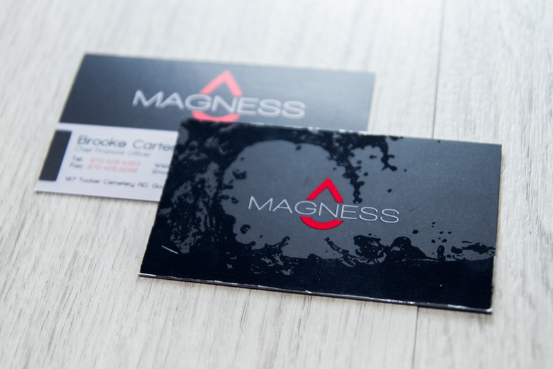 Magness Oil Business Cards