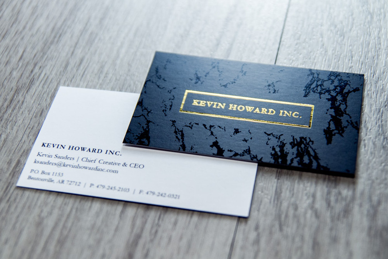 business card design visionamp marketing arkansas
