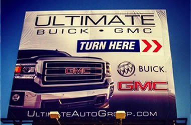 Ultimate GMC Billboard
