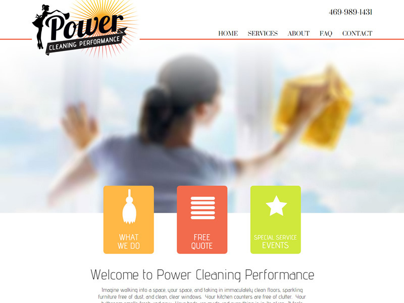 Power Cleaning Performance