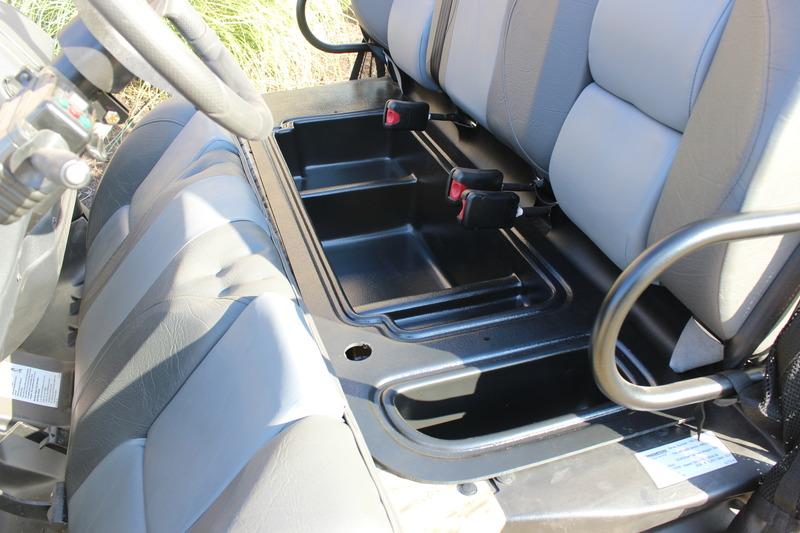 Under-Seat Storage Compartment