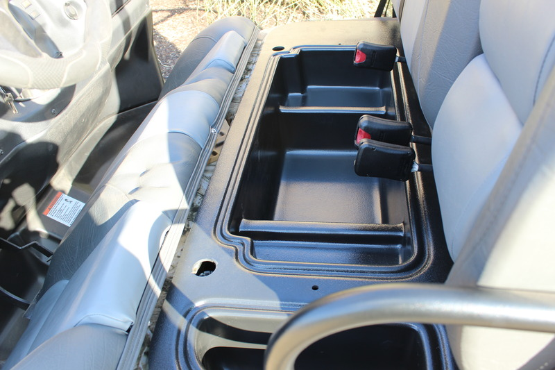 Under-Seat Storage Compartment