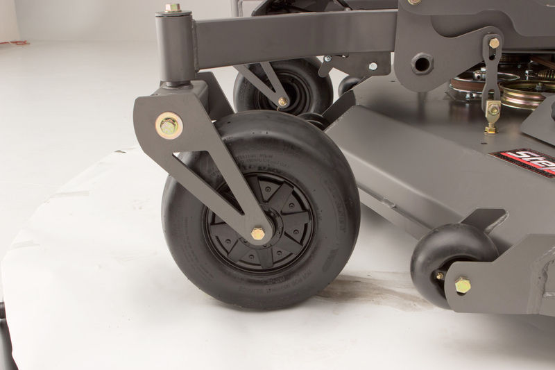 Solid Front Tires Spartan Mowers Zero Turn Mowers