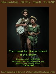 The Lowest Pair in concert