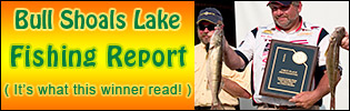 Bull Shoals Lake Fishing Report
