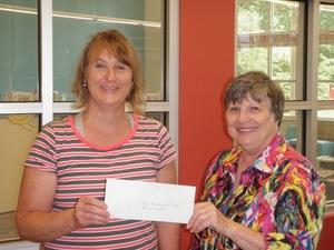 Van Buren Public Library receives United Methodist Women Grant