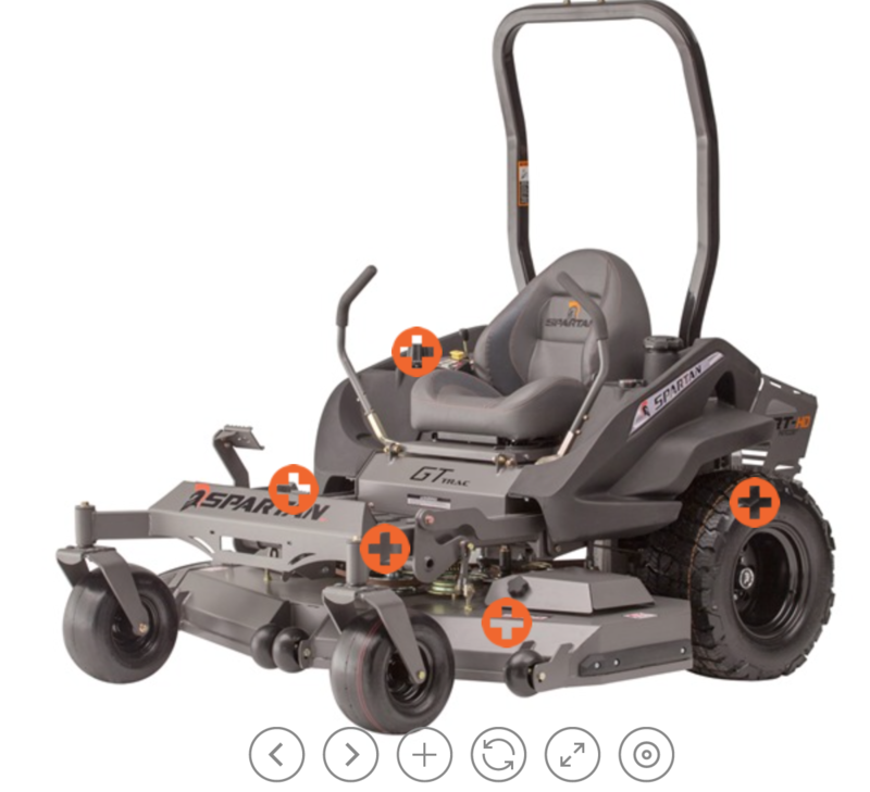 Spartan Mowers Website - Revamped & Reloaded
