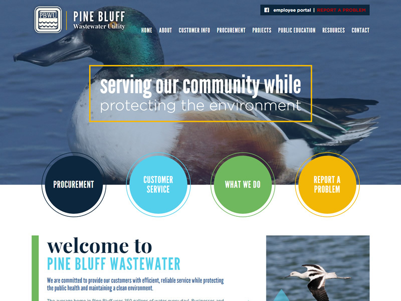 Pine Bluff Wastewater Utility