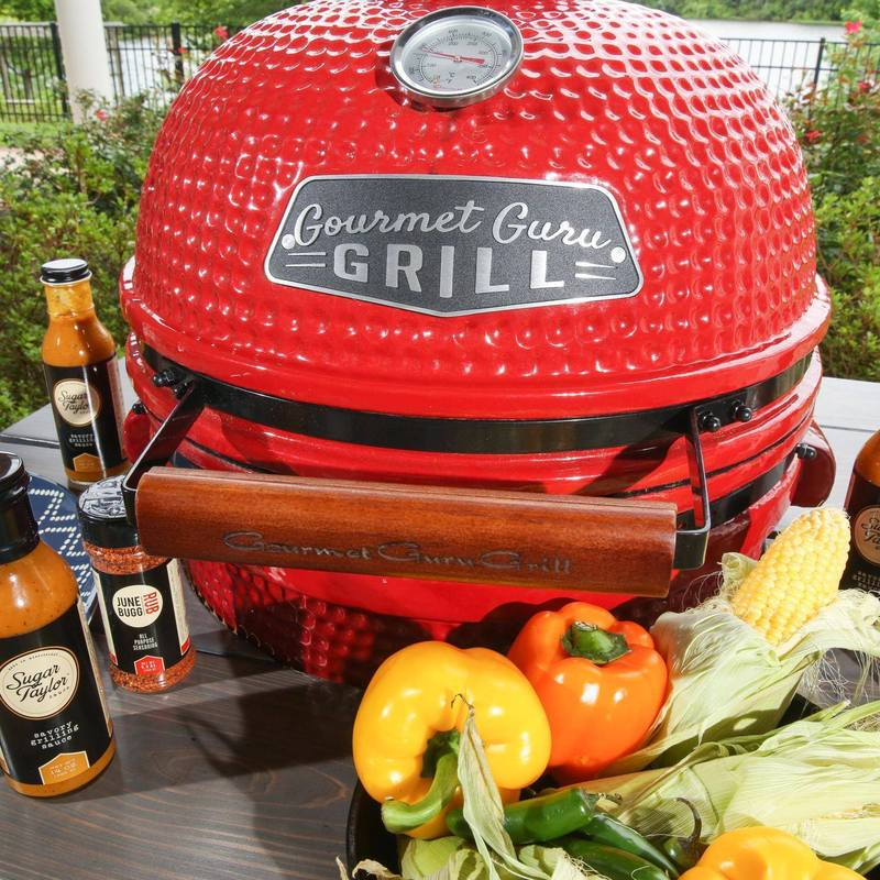 Prep Your Thanksgiving Meal on a Gourmet Guru Grill