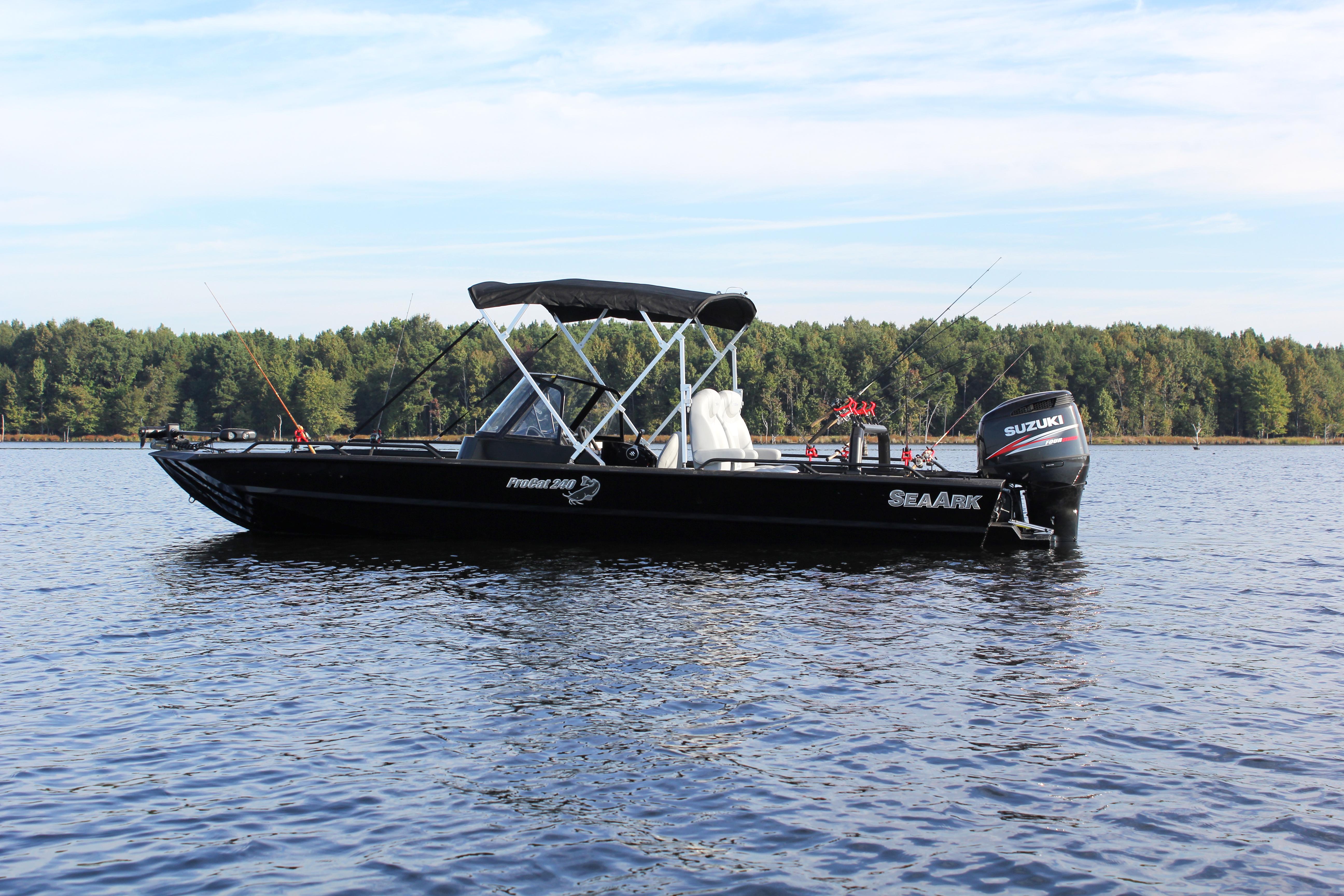 Aluminum Boat Enclosures : About seaark boats arkansas