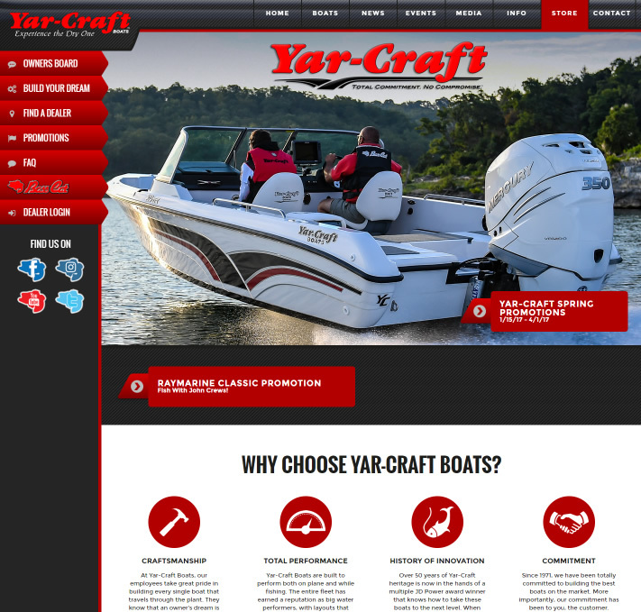 Yar Craft Boats
