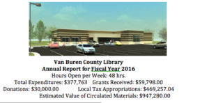VBC Library News End of Year 2016