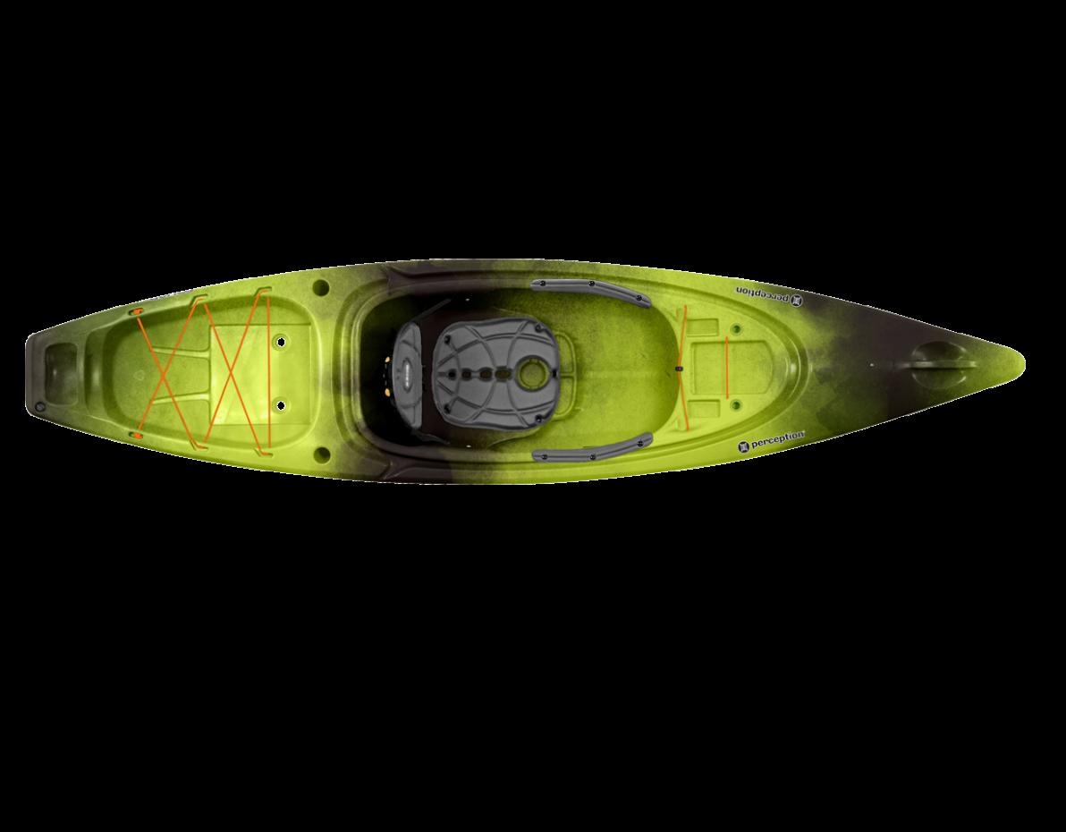Perception Sound 10 5 Kayak - 2018   Ozark Mountain Trading Co