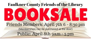 Book Sale!!!  Faulkner County Friends of the Library