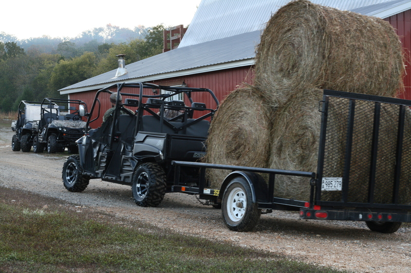 Tips for Hauling Heavy Loads With Your Intimidator UTV