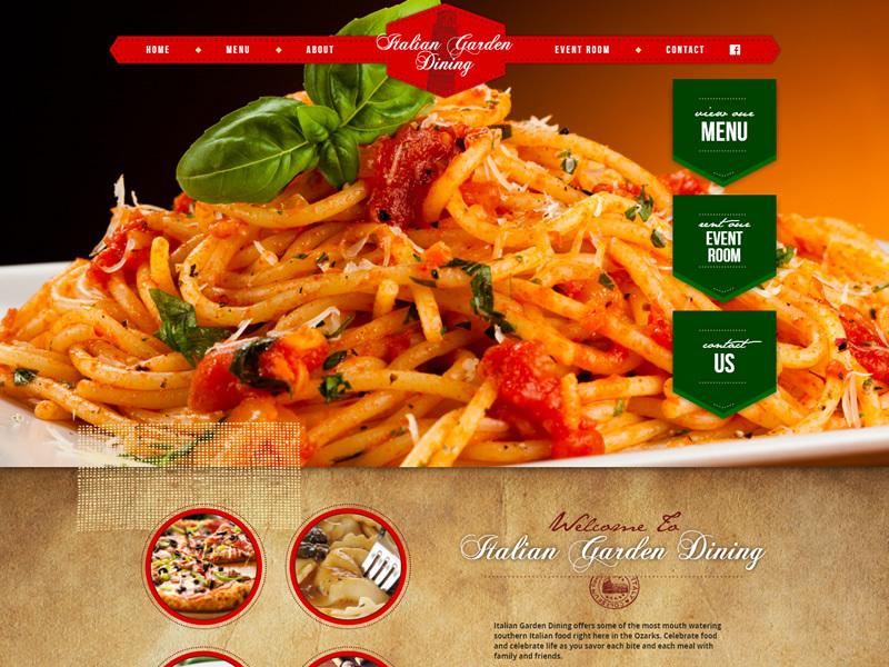 Italian Garden Dining