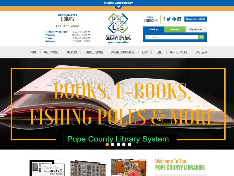 Pope County Library Systems