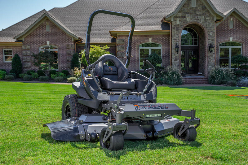 MOWING THE LAWN WITH A SPARTAN MOWER IS GOOD FOR YOUR HEALTH