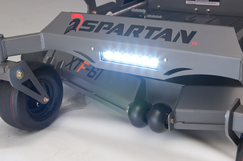 Save Time this Fall by Mowing Your Leaves with a Spartan Mower