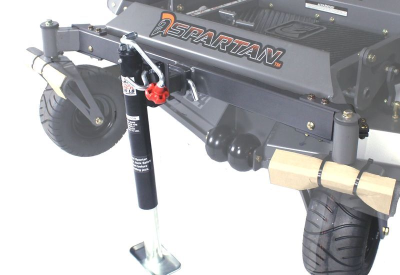 Front Tube Hitch With Jack Spartan Mowers Zero Turn Mowers