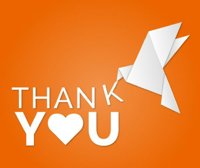 HAVE YOU THANKED YOUR CUSTOMERS TODAY?