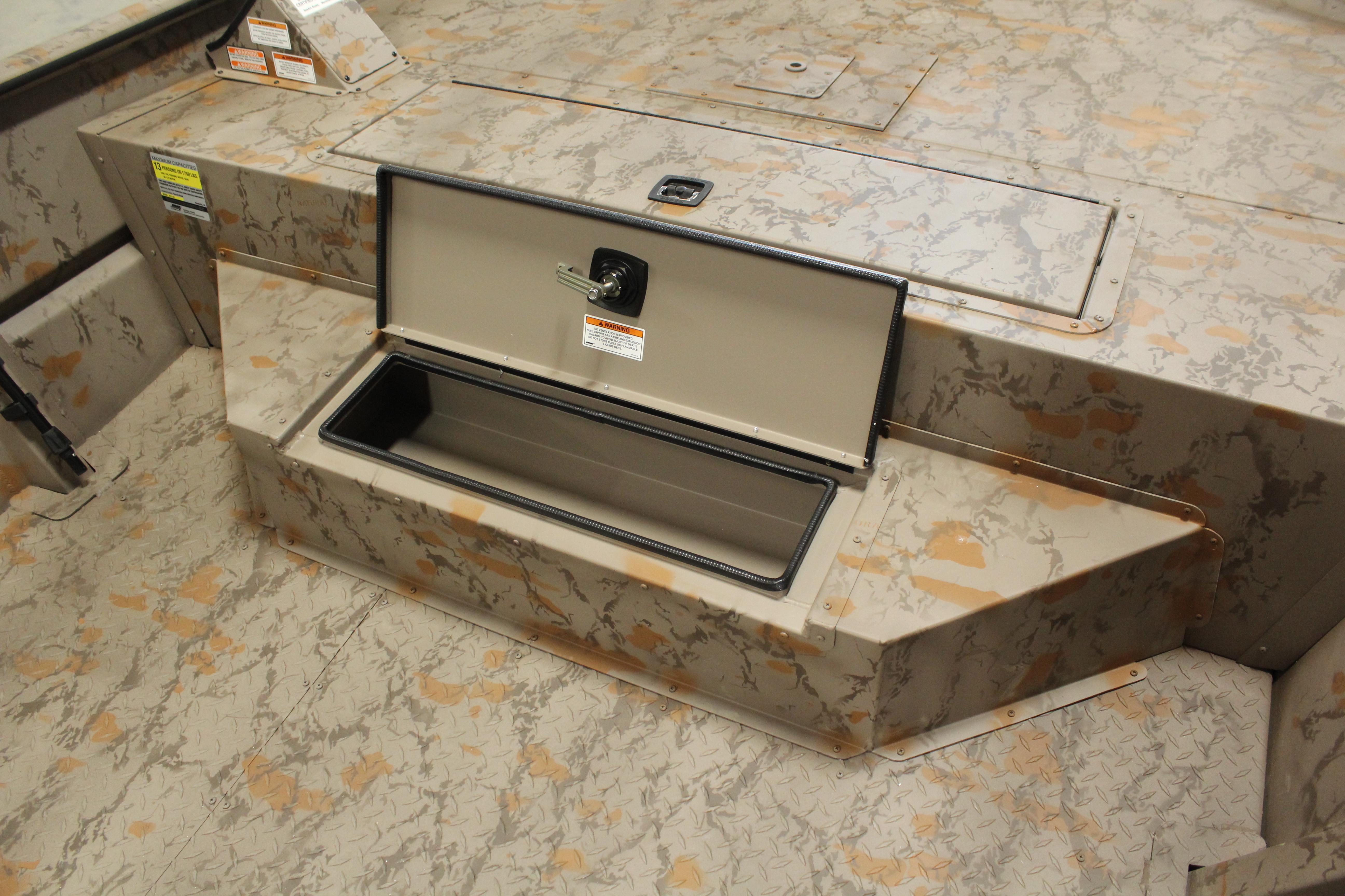 Bow Step Storage