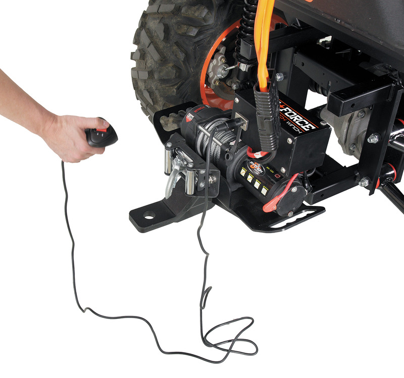 "Strike Force 2"" Receiver Portable Winch"