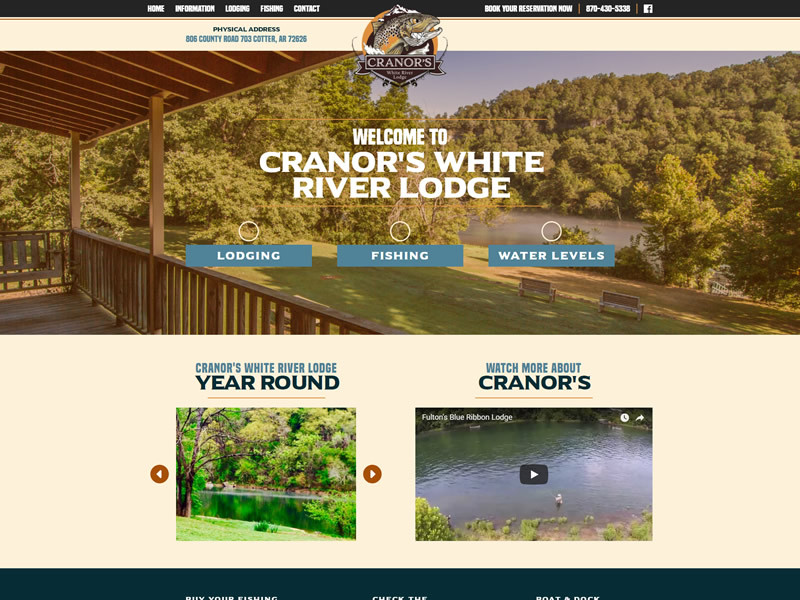 Cranors White River Lodge