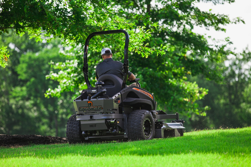 Safety Tips For Using Spartan Zero Turn Mowers On Hills