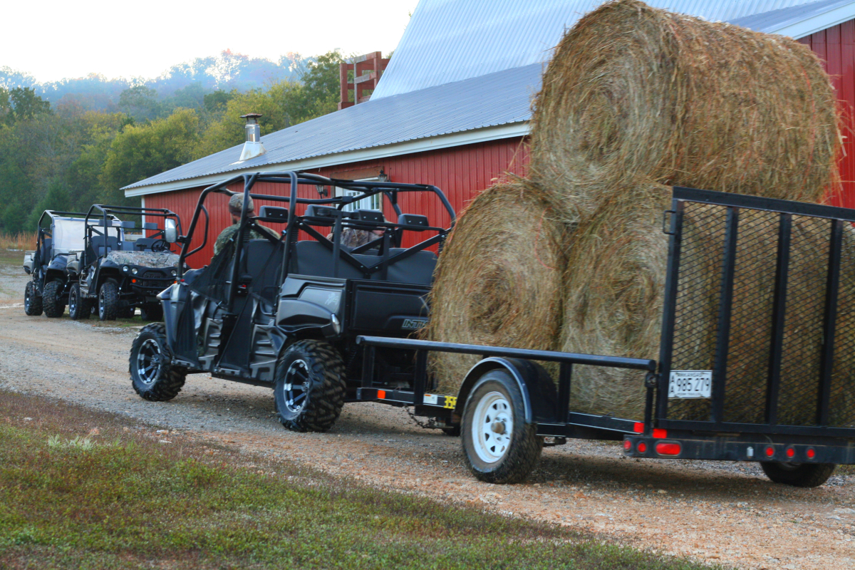Lighten the load on your side by side utv.