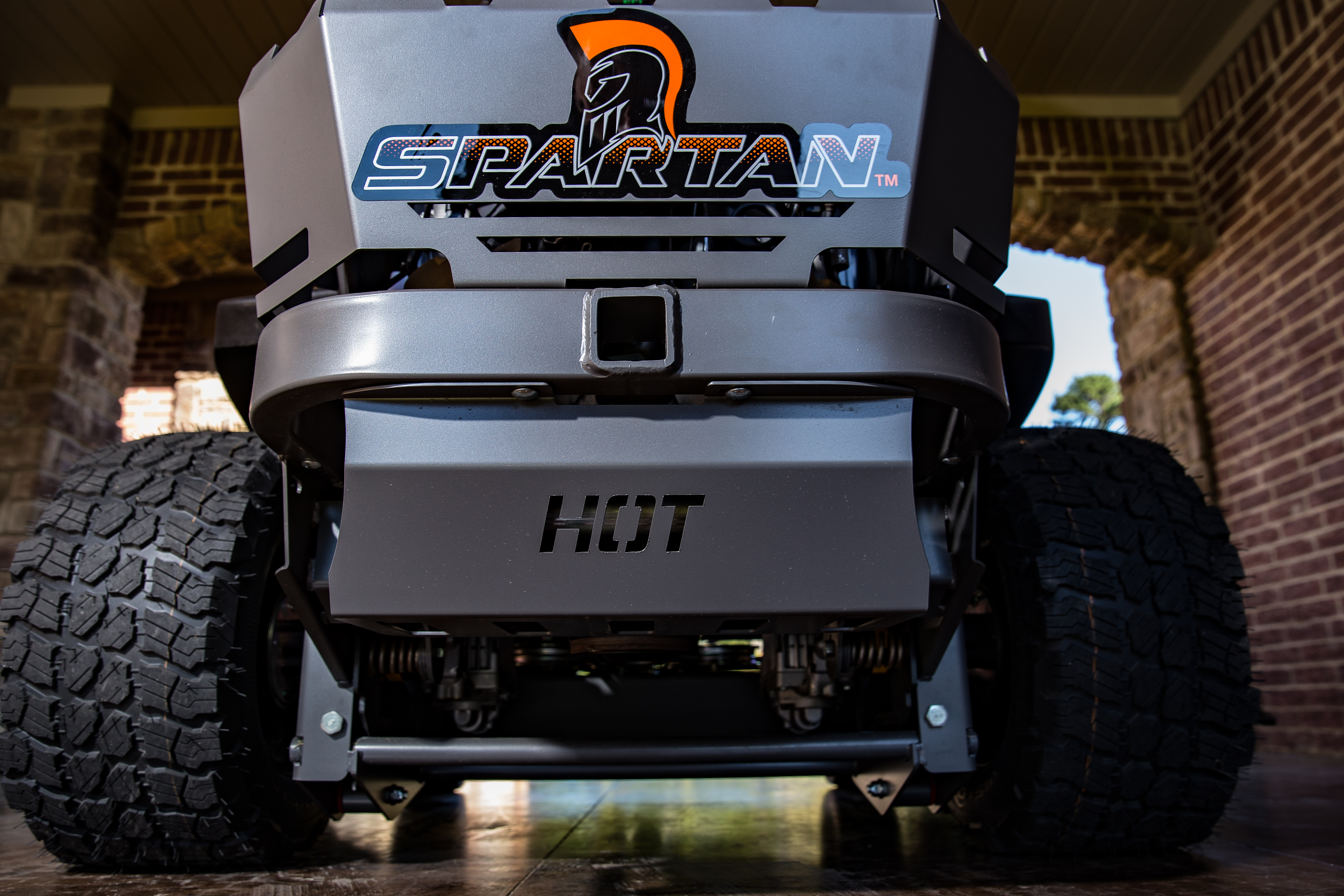 Spartan has commercial zero turn mowers.